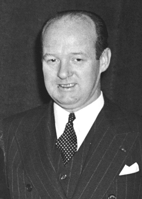 Congressman James Barnes of Morgan County served as President of the Illinois State Society from 1941 to 1942. He left Congress to work as an administrative assistant to Presidents Franklin D. Roosevelt and Harry S. Truman.